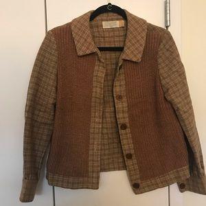 Vintage Plaid Pendleton Jacket Blazer Buttonup